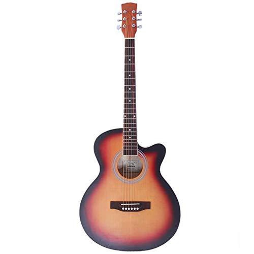 40 inch Spruce Front Cutaway Folk Guitar is zorgvuldig gemaakt met een sparren voorkant en basswood rug en zijkanten de gitaar wordt geleverd met een tas een beschermende plank en een moersleutel. Klik en bestel nu