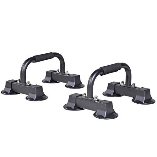 GCX Rutina de Ejercicio Push-up Stand Ejercicio Pectoral aparatos de Ejercicios Casa del músculo Abdominal de la Rueda de formación Principiante y Mujeres de los Hombres Auxiliar (Color : Black)