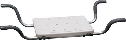 Bisk Pro Bad Sitz mit rutschfesten Pads, Aluminium, 720/820x 170x 300mm