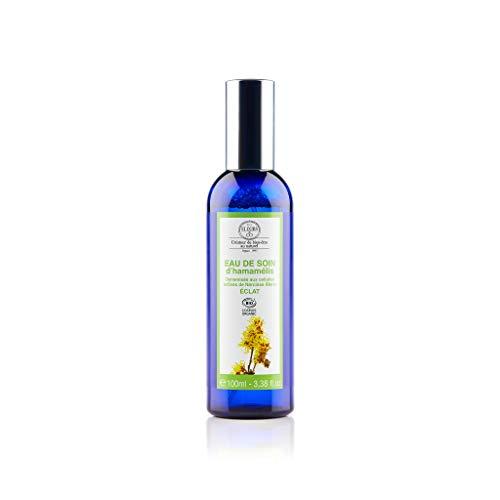 Elixirs & Co - Eau de Soin Dynamisées - Eau Florale - L'Hamammélis - Anti Taches Visage - Eclat du Teint - Soin du Corps Vegan - Bio - Made in France - 100 ml