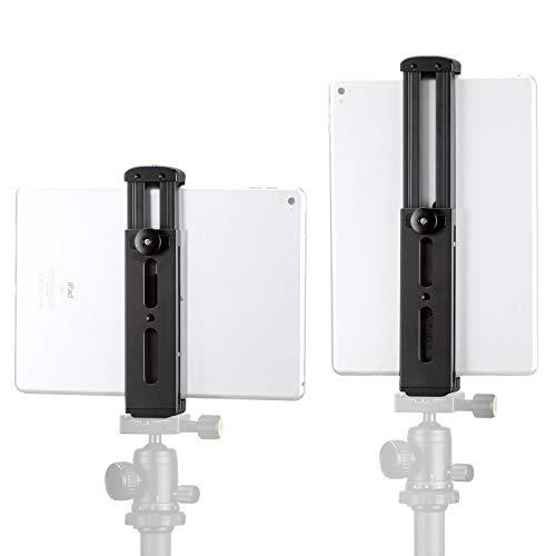 Ulanzi, adattatore per treppiede in metallo alluminio con morsetto, per iPad Pro Mini, filettatura 0,6-50,8cm, attacco a slitta freddo compatibile con luci e microfoni