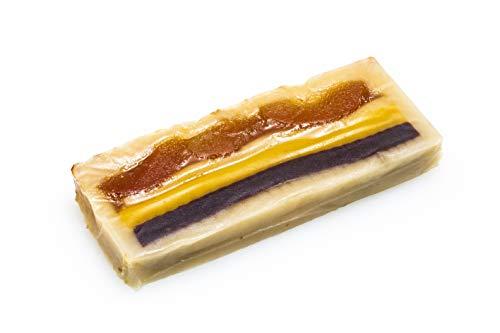 Pack de 2 Turrones Pan de Cádiz Calidad Suprema. Turrón de Obrador Mazapanes Barroso. Tableta de 300 gramos.