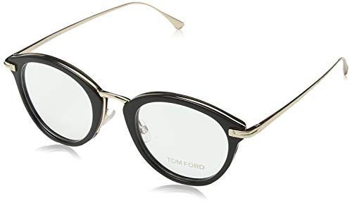 Tom Ford FT5497 zonnebril, glanzend, 48,0 unisex volwassenen