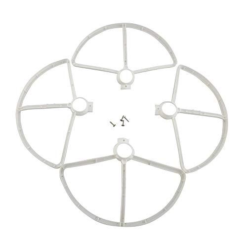 XCQ 4 stücke Schutzschutz für MJX B5W F20 Bugs 5W RC Drohne Quadcopter Ersatzteile dauerhaft 0316 (Color : White)