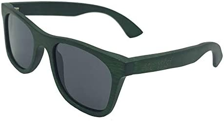 eco nisi Bamboo Wood Green Sunglasses with Bamboo Case product image