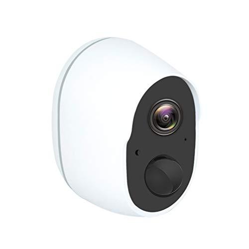 Delaspe Monitor de Cámara Domestica Inalámbrico con Cámara Wifi con Aplicación para Interior y Exterior