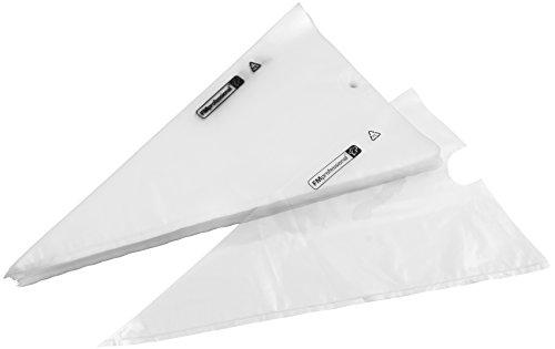 FMprofessional, PE, ca. 500x280 mm, 100 STK, mit Öse, transparent 30 Einwegspritzbeutel, Kunststoff, 50 x 28, Einheiten