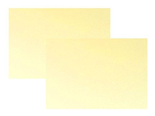 代引対応 カラーダンボール板 サイズ:900ミリx600ミリ 2枚セット カラー:クリームイエロー
