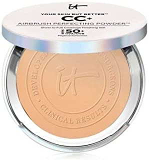 Your Skin But Better CC+ Airbrush Perfecting Powder SPF 50+ Tan