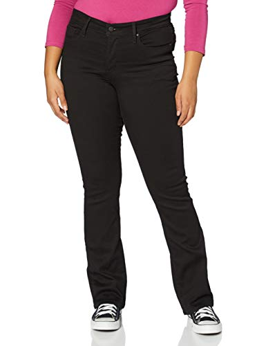 Levi's 315 Shaping Boot Jeans, Soft Black, 33W / 34L para Mujer