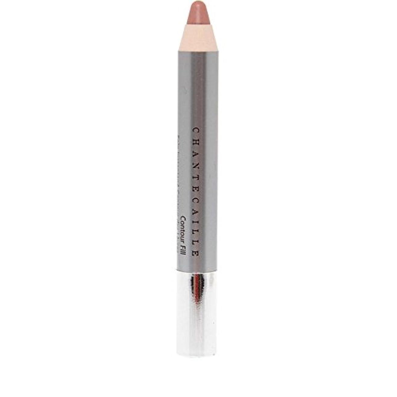 ノーブル定規賃金シャンテカイユリップ輪郭フィル鉛筆 x4 - Chantecaille Lip Contour Fill Pencil (Pack of 4) [並行輸入品]