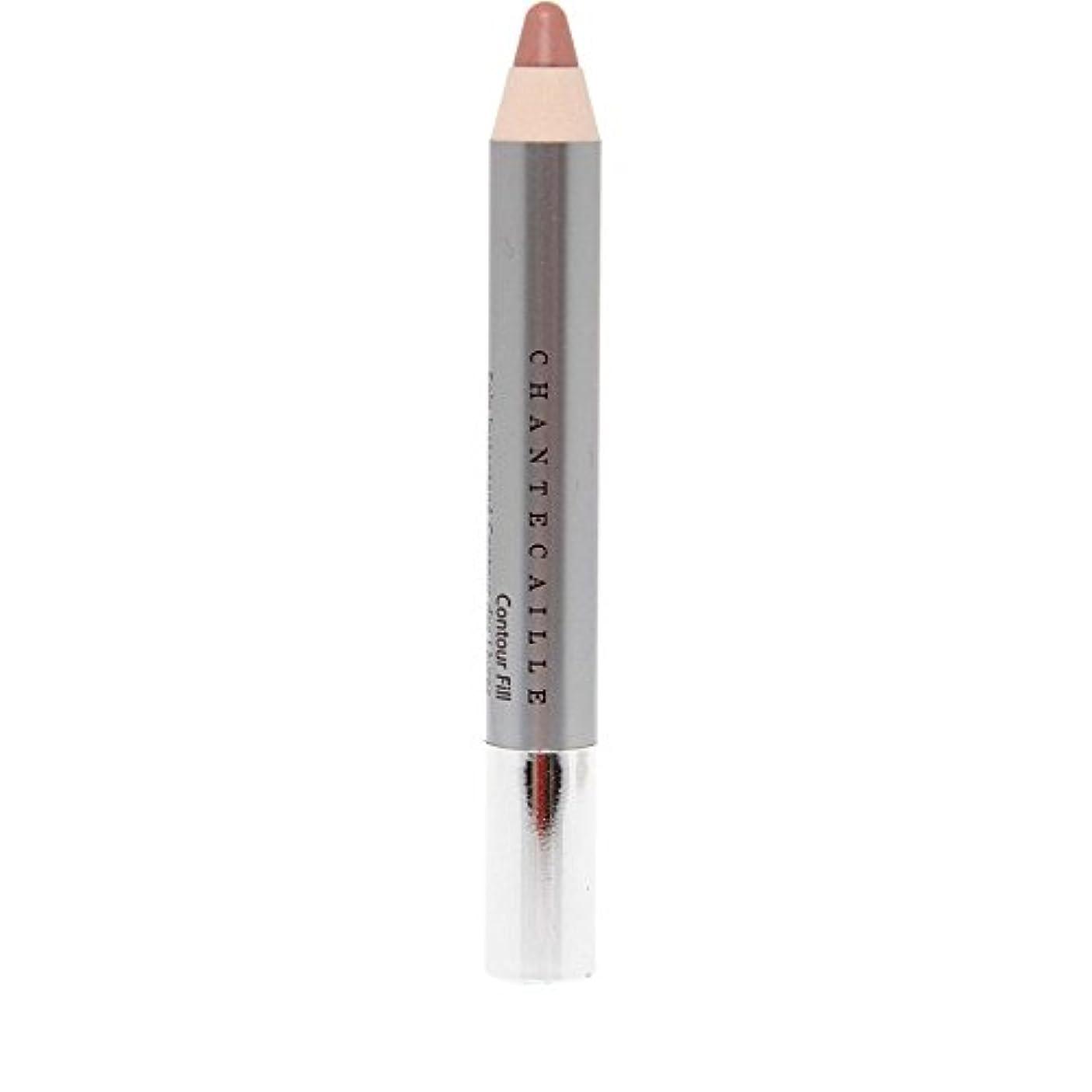 勝つ社交的のシャンテカイユリップ輪郭フィル鉛筆 x4 - Chantecaille Lip Contour Fill Pencil (Pack of 4) [並行輸入品]