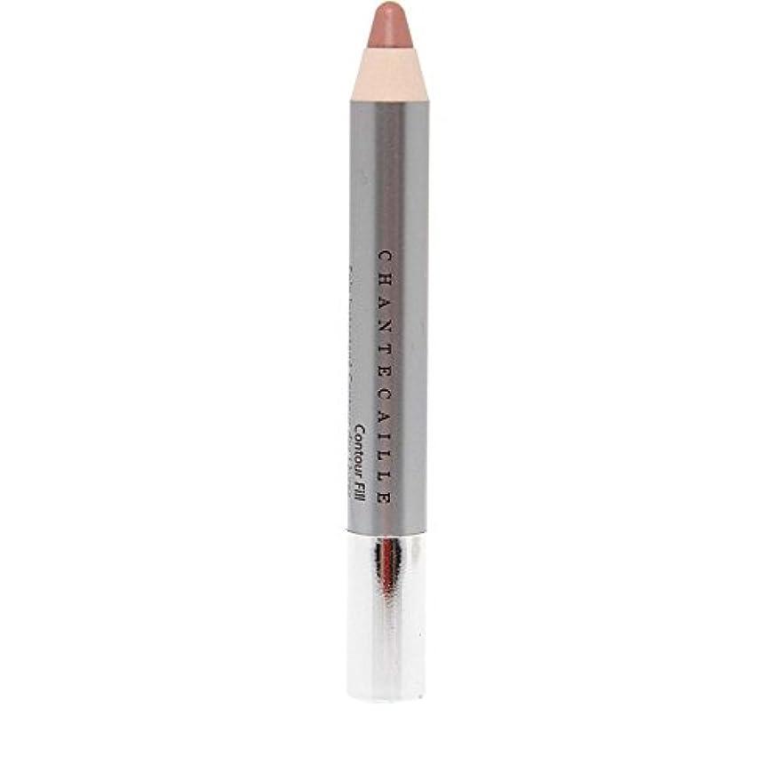 一般的な視線シャークシャンテカイユリップ輪郭フィル鉛筆 x4 - Chantecaille Lip Contour Fill Pencil (Pack of 4) [並行輸入品]