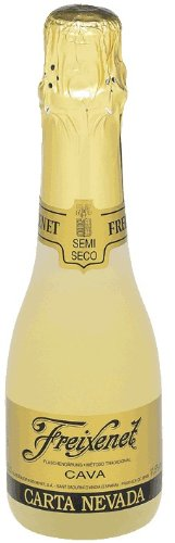 Freixenet Sekt Carta Nevada Semi Seco 12% 24-0,2l Piccolo Flasche