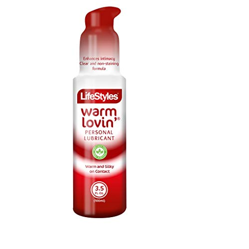 LifeStyles Warm Lovin' Liquid Personal Lubricant 3.50 oz (Pack of 2)