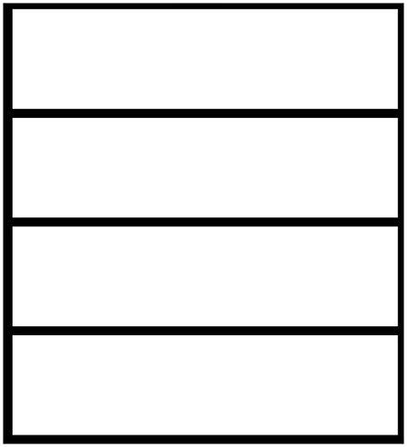 Wallario Möbelfolie/Aufkleber, geeignet für IKEA Malm Kommode - Weiß mit 4 Schubfächern