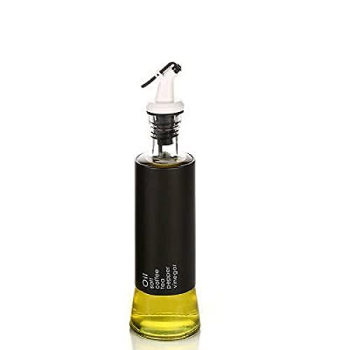 Yetier Botella de Aceite, Suministros de Cocina Botella de condimento Botella de Aceite de Vidrio combinada Botella de condimento sellada