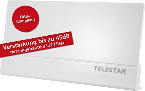 Telestar Antenna 9 LTE Antenne Active DVB T2 DVB-T2 HD/DVB-T, FM, Dab+, FullHD, Gain 45 DB, Filtre...
