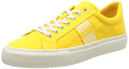 GANT Footwear Herren FAIRCOURT Sneaker, Gelb (Sun Yellow G330), 43 EU