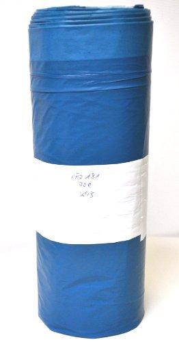 Abfallsack mit Zugband 70l, CLEAN and CLEVER, 25 Stück auf der Rolle