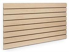 Maple Slatwall Panels 24'H x 48'L (Set of 2 Panels)