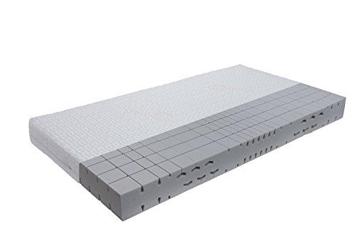 Ortopedisk 7 zoner kallskum madrass sovlinje klassisk medicott fasthet nivå: H3 (från 85 kg) i olika storlekar, skum, vit, 80 x 190 cm