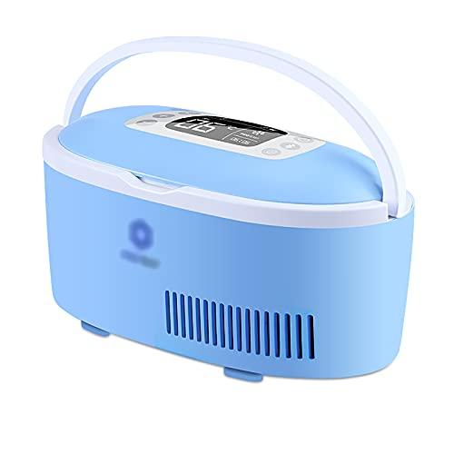 JUNKUN Caja refrigerada de insulina portátil Puerto de Carga USB Se Puede Llevar con Usted Refrigerador de automóvil Modelo X (batería incorporada + Banco de energía)