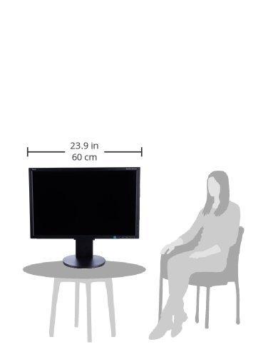 """NEC EA244WMI-BK Pantalla para PC 61 cm (24"""") LED Negro - Monitor (61 cm (24""""), 1920 x 1200 Pixeles, LED, LCD, 5 ms, Negro)"""