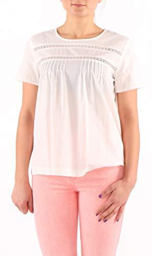 Levi's dames blouse wit kant stoffen strepen