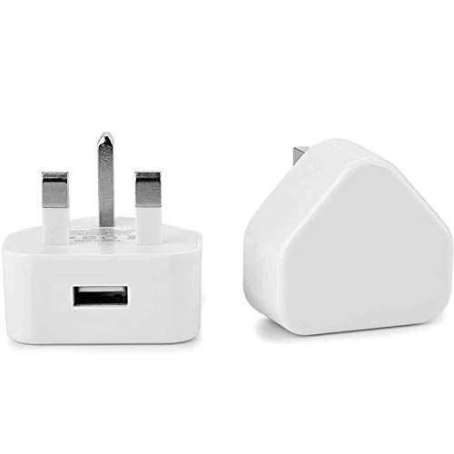(Pack of 2) Headphone Adapter for iPhone - AUX Audio Lightening Cable 2in1 Dongle Dual Ports Jack Music & Call - Compatible with iPhone 12/11/11 Pro/7/7Plus/8/8Plus/Xs Max/XR/X Support All iOS System