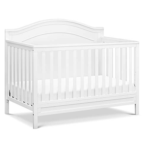 DaVinci Charlie 4in1 Convertible Crib in White | Greenguard Gold Certified