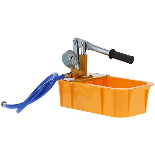 Tenpac Bomba de Prueba hidráulica, probador de presión de Agua Aleación de Aluminio y plástico para plomería para construcción para petróleo para Industria