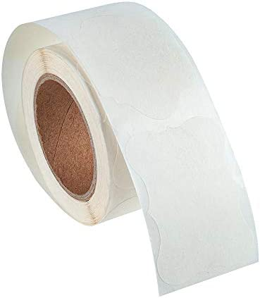 Shaped Dissolvable Labels 1 38x1 97 inch No Residue Labels Per Roll Labels 200 1 38x1 97 inch product image