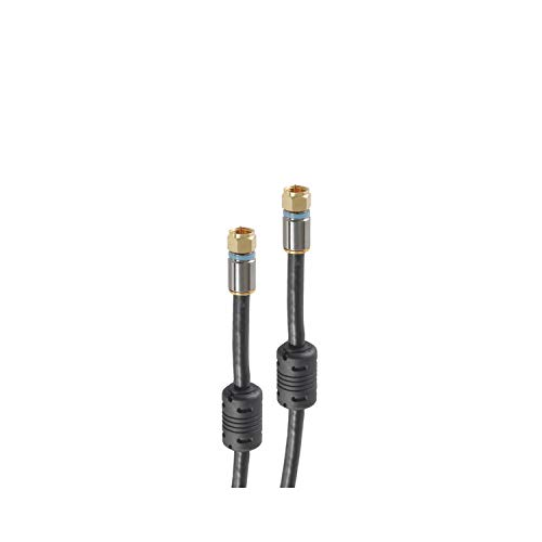 shiverpeaks SAT Kabel RG6, 4-Fach, F-St. - F-St, 5,0m