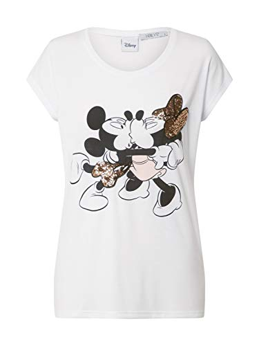 Hailys Damen Shirt weiß L