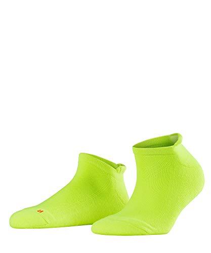 Calcetines tobilleros amarillos básicos para deportes