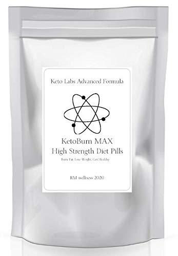 Keto Labs Advanced Formula - Keto Burn MAX High Strength Diet Pills - 60 Capsules - Letterbox Friendly