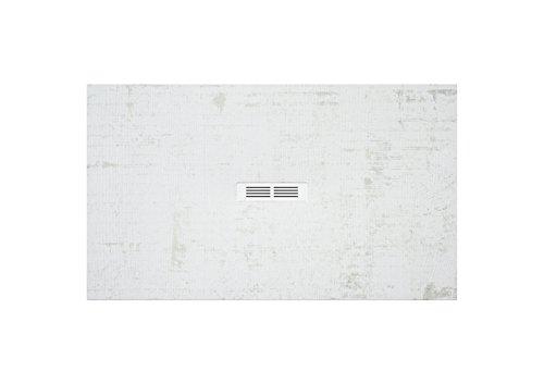 Roca AP2013E832001800 - Plato de ducha extraplano de stonex