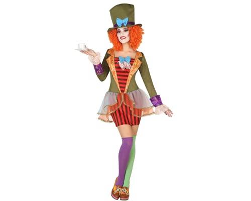 ATOSA disfraz sombrerera loca mujer adulto XS