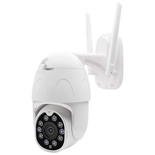 Überwachungskamera Außenüberwachungskamera HD 1080pWiFi Fernüberwachung mit Nachtsichtfunktion kann gedreht Werden, unterstützt Sprachüberwachungskamera im Freien