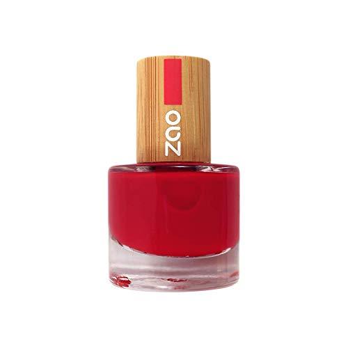 Zao - Bambus Nagellack - Nr. 650 / Classic Red - 8 ml