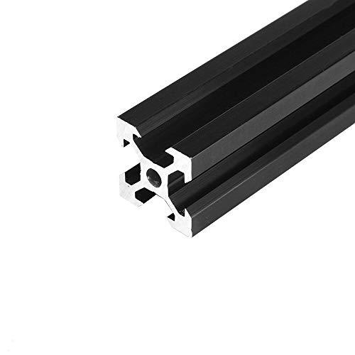 Aluminium extrudering, FXIXI, svart, 2020 V-Slot, aluminiumprofil, extruderingsram för CNC lasergraveringsmaskin