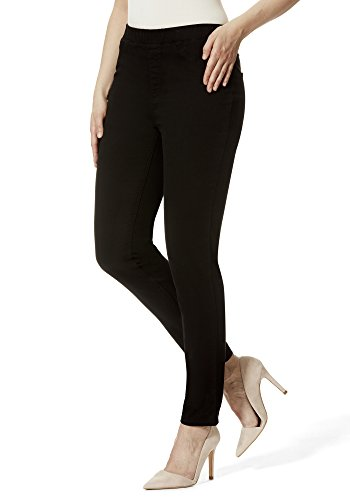 STOOKER Florida Damen Sommer Slim Stretch Jeans leichte Hose (42 (32/30), 6999 - Black)