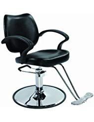 Barber Chair Salon Chair Styling Chair Hydraulic Pump Barber Chair Heavy-Duty Beauty Salon Barber Swivel Chair Shampoo Styling Hair Chairs Hair Cutting Professional Salon Equipment