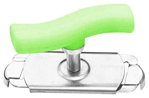 Vidrio universal Can Sacacorchos Manual Non-Slip Twist Cap Bottle Lanzadora Abrelaje Tornillo Tornillo Jam Jar Abre Archivo Gadget (Color: Verde) Plztou (Color : Green)
