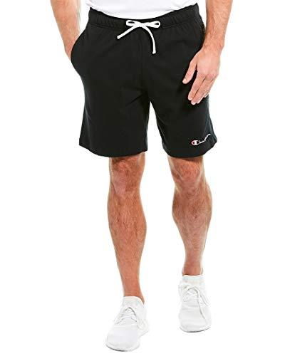 Champion LIFE Men's Jersey Short, Black, 2X Large