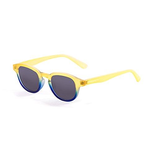 Paloalto Sunglasses Laguna Beach Gafas de Sol Unisex, Amarillo/Azul