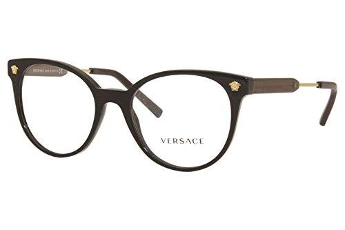 Versace VE3291 GB1 51 - Preto/Verde/Dourado