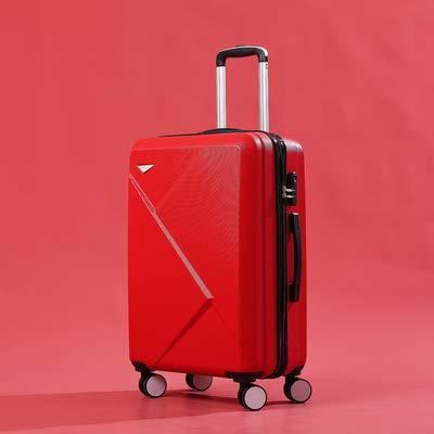 KGDUYH Maleta Abs + PC Maleta de PC 20''24'28 'Pulgada Maleta de Viaje de Equipaje Enrollable en Ruedas Carry On Cabin Trolley Equipaje Bolsa de Equipaje Conjunto de Moda para Viajes de Negocios