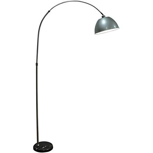 Floor Lamp, aluminium Lampekap, marmeren voet, Warm Wit Licht, Modern Staande Lamp Woonkamer Slaapkamer Study Office Dorm Room Leeslamp Vloerlamp Plank Lamp LED